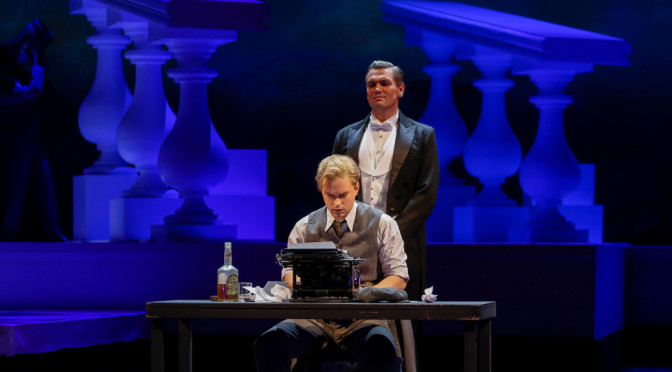 """""""The Great Gatsby"""" von John Harbison an der Semperoper Dresden, Foto: Daniel Koch"""